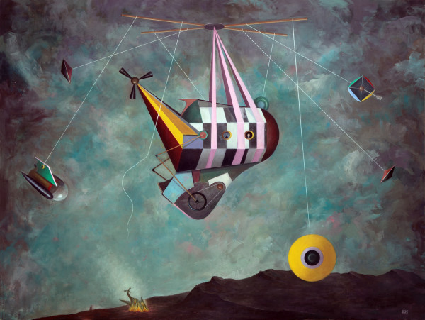 Bernhard Buhmann The Great Loss, 2013 Oil on canvas 230 x 300 cm 90 1/2 x 118 1/8 in