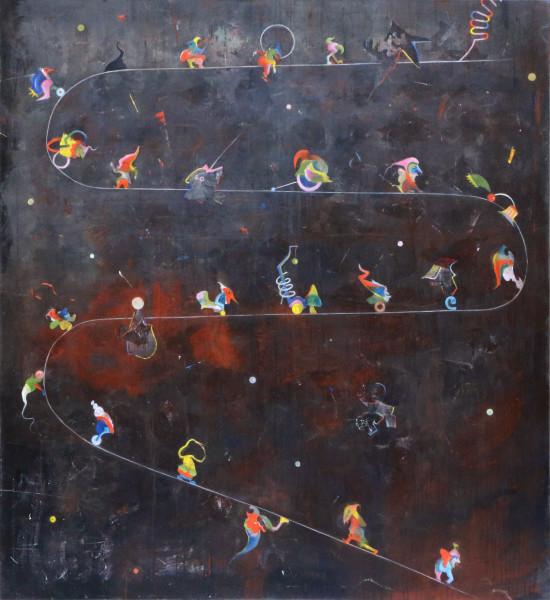 Bernhard Buhmann Road to Joy, 2014 Oil on canvas 175 x 160 cm 68 7/8 x 63 in