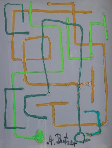 André Butzer Apfel und birnen, 2010 Oil on canvas 80 x 60 cm 31 1/2 x 23 5/8 in
