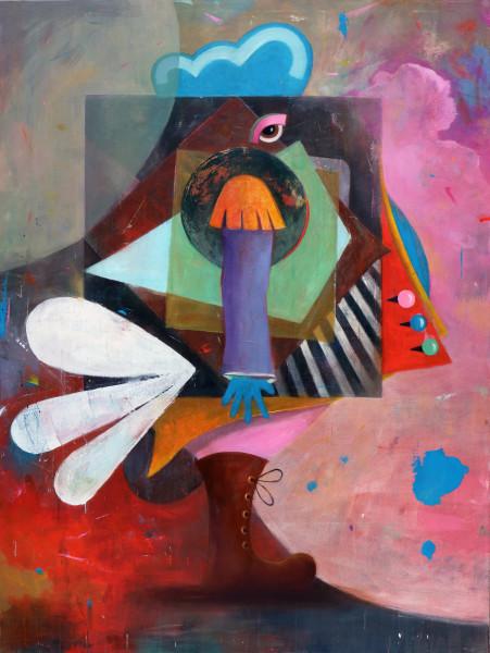 Bernhard Buhmann Kasimir, 2014 Oil and acrylic on canvas 200 x 150 cm 78 3/4 x 59 1/8 in