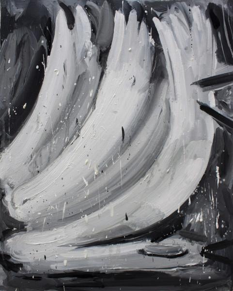 Amir Khojasteh  A dead swan, 2018  Oil on canvas  35 x 28 cm  13 3/4 x 11 1/8 in