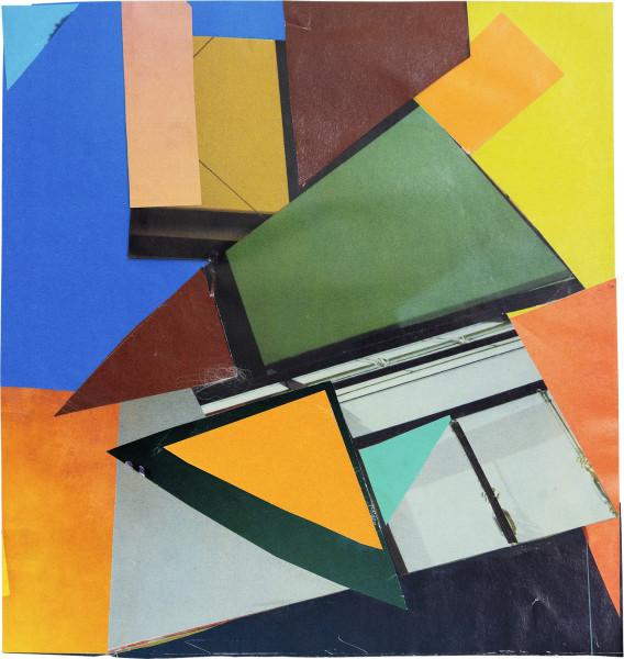 Elisabeth Wild Untitled (157), 2018 Collage on paper 19.9 x 18.8 cm 7 7/8 x 7 3/8 in