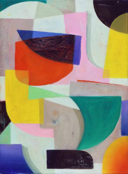 Bernhard Buhmann Untitled (b7), 2015 Acrylic and oil on canvas 57 x 42 cm 22 1/2 x 16 1/2 in