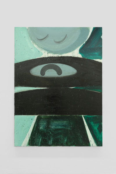 Amir Khojasteh Sad Fighter #9, 2020 Oil on canvas 190 x 140 cm 74 3/4 x 55 1/8 in