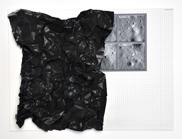 Michael Sailstorfer Dark side of the moon #2, 2012 Mixed media 29.4 x 40 x 6 cm 11 5/8 x 15 3/4 x 2 3/8 in