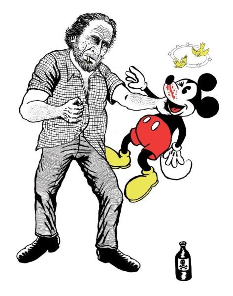 Bukowski vs The Three Fingered Bastard
