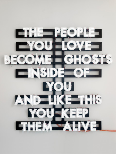Robert Montgomery, The People You Love , 2013