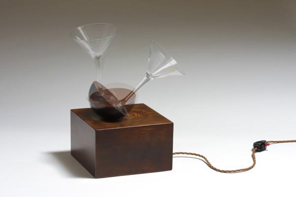 Jason Shulman, Wobbling Martini, 2017