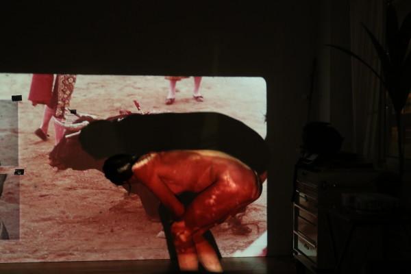 Cristina Planas, Muerte del toro or death of the bull, 2018
