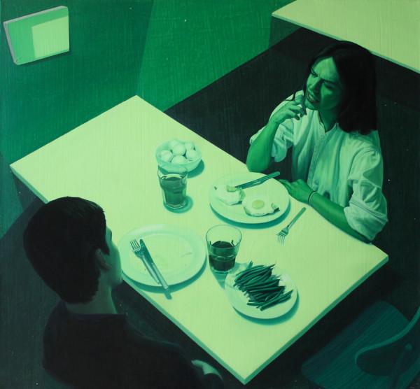 Tristan Pigott, Green Dinner, 2015