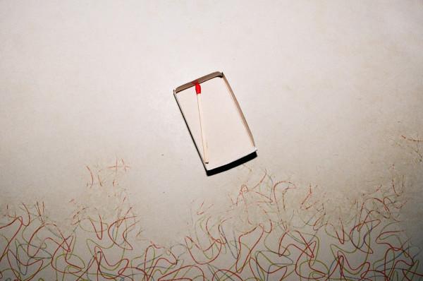 Lorena Lohr, Untitled (Countertop and Matchbox), 2018
