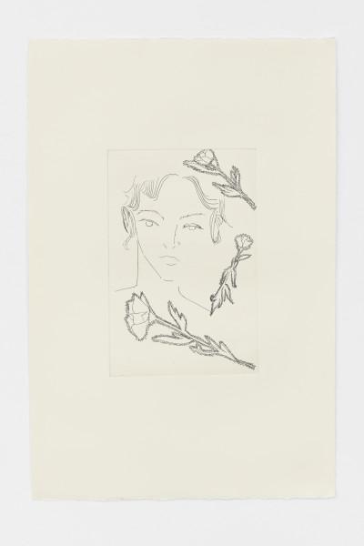 Faye Wei Wei, Thistle Flower, 2019