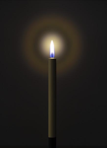 Jason Shulman, Candle, 2017
