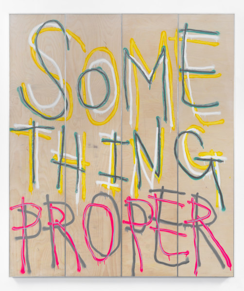 Thomas Langley, Something Proper, 2018