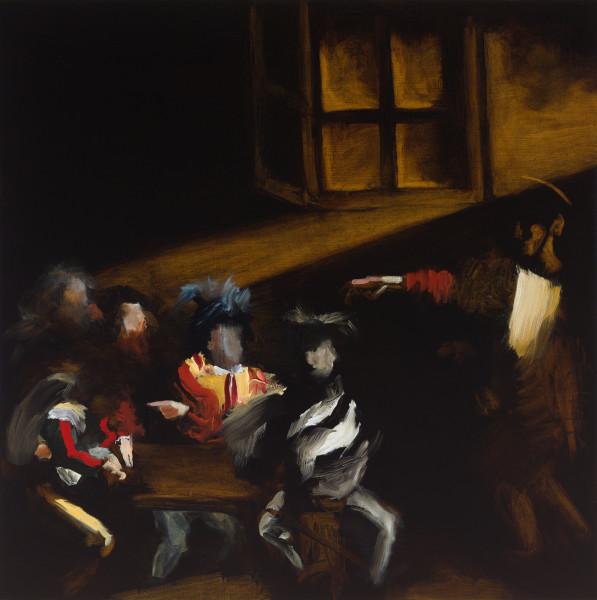 Elise Ansel, Calling V (after Caravaggio), 2015