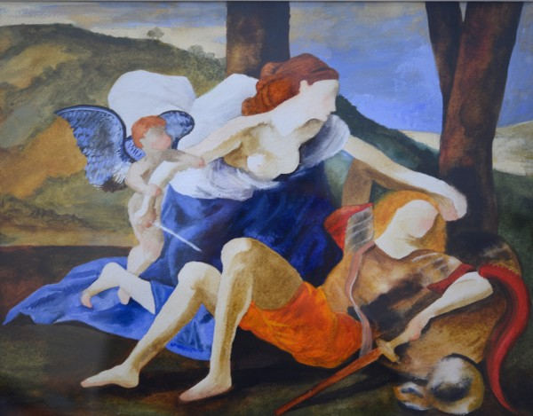 Elise Ansel, Study III for Rinaldo and Armida, 2014