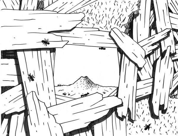 Greg Ballenger, Ouroboros (Sketch), 2020