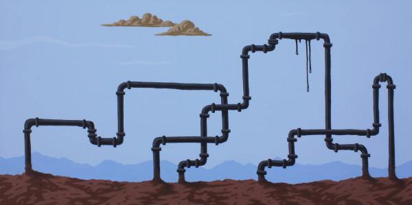 Greg Ballenger, Pipe Landscape, 2020