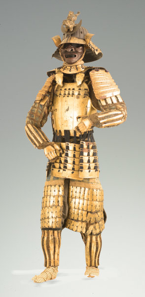 Gold Samurai Armor, Date Clan of Sendai, c. 1800