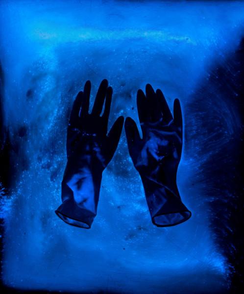 Alivia Magaña, Gloves II, 2018