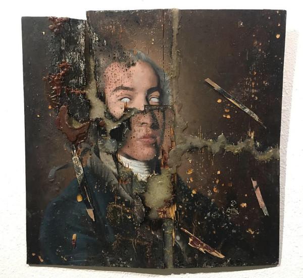 Greg Ballenger, Self Portrait as Immanuel Kant