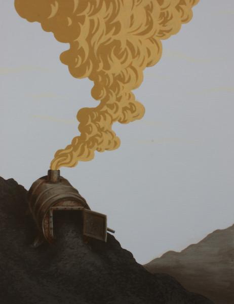 Greg Ballenger, Coal for Cheii, 2020