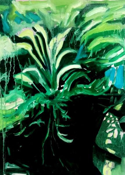 Lucy Smallbone, Lilac Swamp, 2018