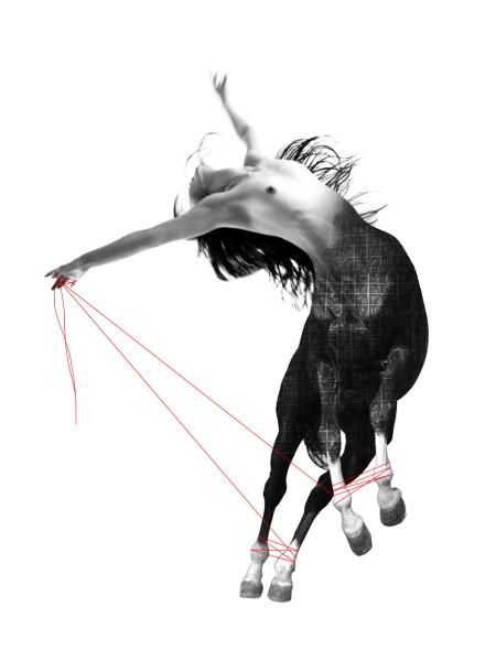 Shadi Rezaei, Geometry of Pain #III, 2016