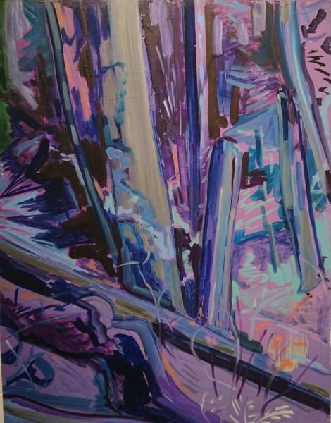 Lucy Smallbone, Lavender Wood, 2018