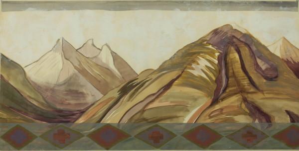 Kay WalkingStick, Bitterroot Mountains III, 2002