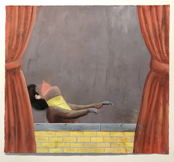 Nat Meade, Falsetto with Curtains, 2011