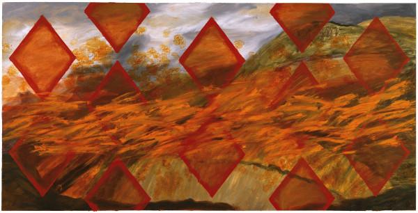 Kay WalkingStick, Howitzer Hill Fusillade, 2008