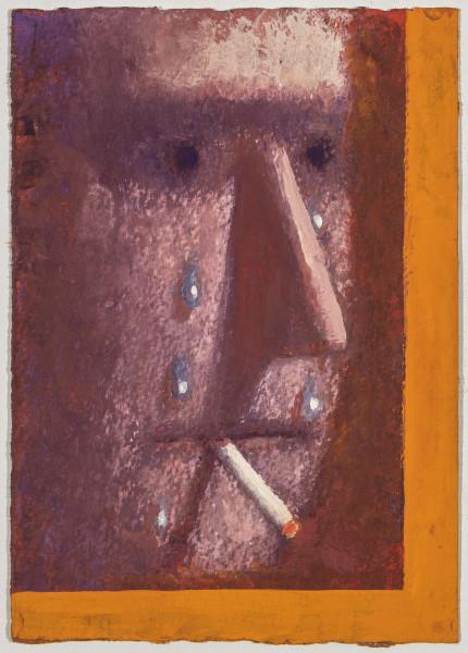 Nat Meade, Smoker/Cryer, 2016