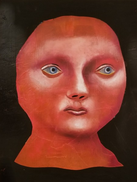 Matthew Dennison, The Red Woman, 2019