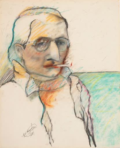 Rick Bartow, Self, 1984
