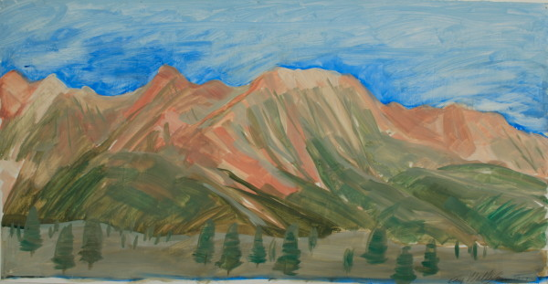 Kay WalkingStick, Sierra Nevada Mountains II, 2014