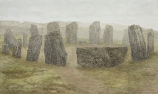 Gwen Davidson, Drombeg Stone Circle, 2019