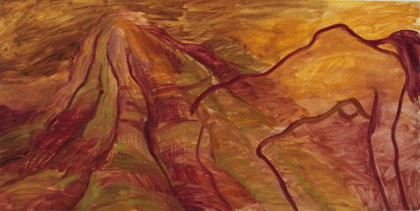 Kay WalkingStick, Blame the Mountains IV, 1998
