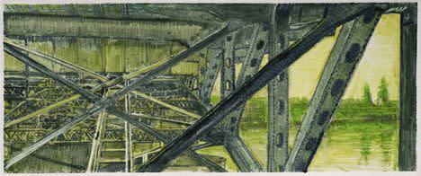 Lli Wilburn, Green Morrison Bridge, 2011