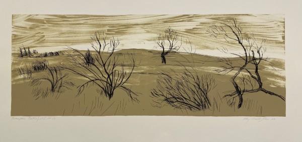 Kay WalkingStick, Bear Paw Battlefield I, 2003