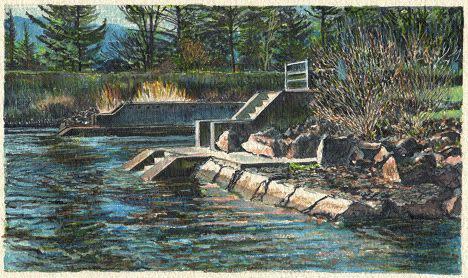 Lli Wilburn, Cascade Locks, 2015