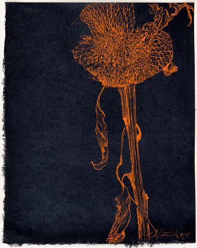 Sarah Horowitz, Golden Sunflower 1, 2007