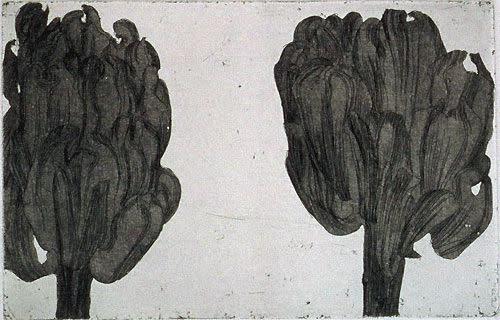 Sarah Horowitz, Dark Artichokes, 2001