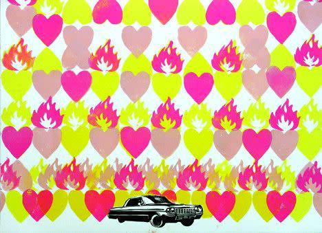 V. Maldonado, Flame of Color Field #1, 2004