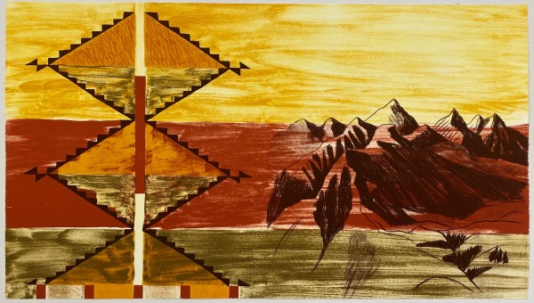 Kay WalkingStick, Wallowa Memory, 2003