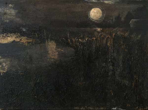 Miles Cleveland Goodwin, Moon Over Hay Fields, 2014