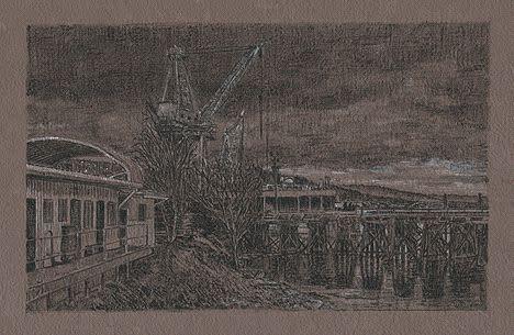 Lli Wilburn, Docks and Cranes, 2015