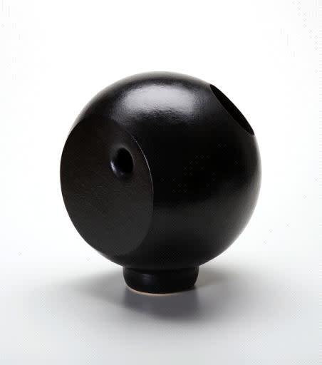 Whitney Lowe, Sphere with Metallic Panel, 2011