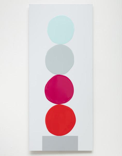 David Batchelor, Multi-Colour Chart 24, 2018