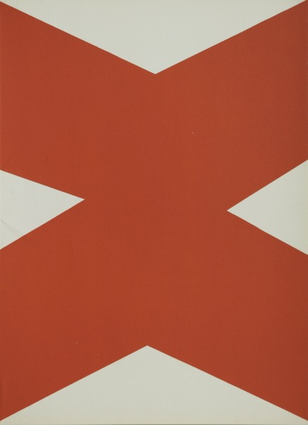 Ellsworth Kelly, Untitled - (from Derriere Le Miroir No.110), 1958